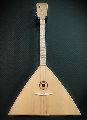 "Balalaika 3 Strings SB Manufaktura: ""Doff""  Very beautiful sound"