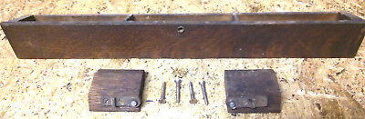 Antique Treadle Singer Sewing Machine Middle Drawer hard to find center + screws