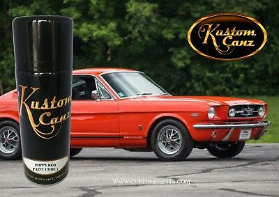 12oz Aerosol Of Poppy Red Ford Paint Automotive Hok Ppg Dupont