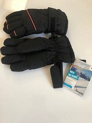 Thinsulate Boys Ski Gloves 3M Size M/L Ages 12-15