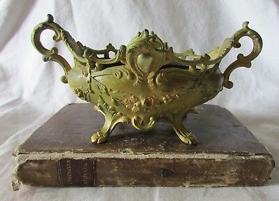 ANTIQUE FRENCH NAPOLEON III JARDINIERE PLANTER CENTREPIECE BELLE EPOQUE c1890 #2