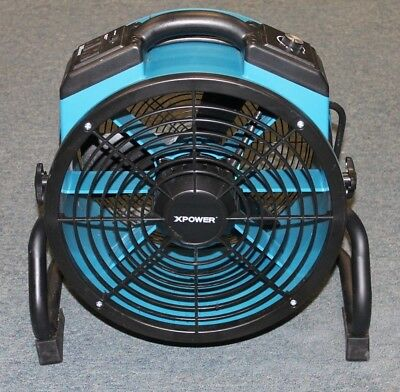 XPOWER X-34AR 1/4 HP Industrial Sealed Motor Axial Air Mover With Outlets