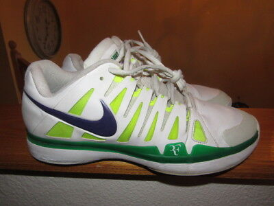 nike zoom vapor 9 tour Roger Federer Pe sample unreleased worn shoes size 10