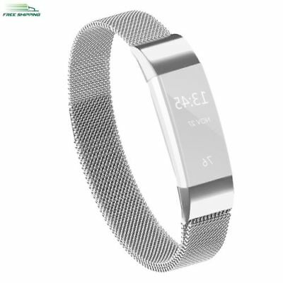 For Fitbit Alta HR Milanese Loop Magnetic Stainless Steel Band Wrist Bracelet