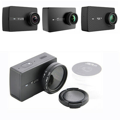 For Xiaoyi Yi Lite 4K Action Camera 37/52mm CPL UV Close Up 10X Lens Filter Sets