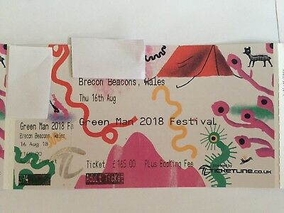 Green Man Festival 2018 Adult Ticket