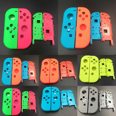 For Nintendo Switch Joy-Con Replace Housing Shell Cover+Battery Case Multicolor