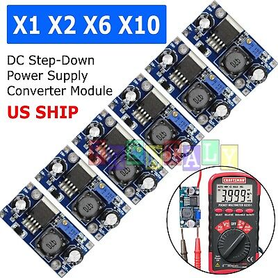 Lot  LM2596S DC-DC 3A Buck Adjustable Step-down Power Supply Converter Module