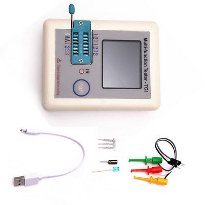 LCR-TC 1 1.8inch TFT BacklightTransistor Tester Multifunctional Colorful Display