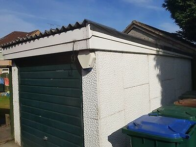 Concrete sectional garage, used, no asbestos