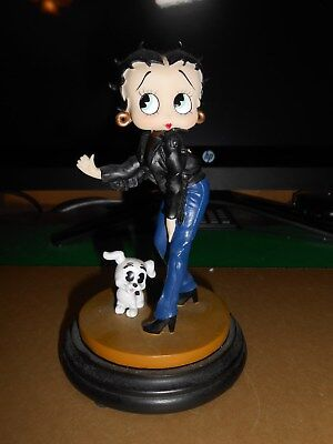Betty Boop Figurine Hitching A Ride