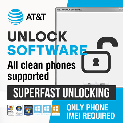 At&T Factory Unlock Code Software For | Iphone | Samsung | Zte | Lg | Htc | All
