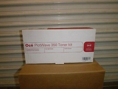 Genuine Oce Plotwave 350 Toner kit Art.1060127660 NEW SEALED ORIGINAL