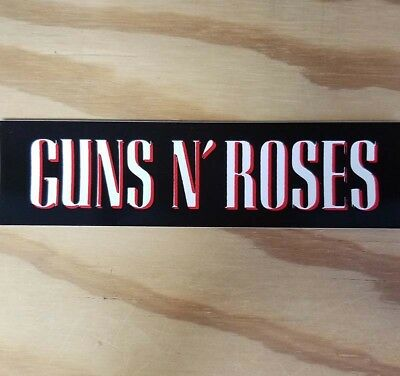 GUNS N ROSES Vinyl Sticker - FREE SHIPPING!