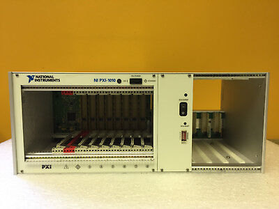 National Instruments PXI-1010 (184826F-01) PXI / Compact PCI Chassis. Tested!