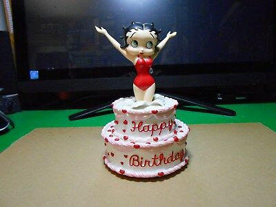 Betty Boop Birthday Cake Figurine ( Vanilla )