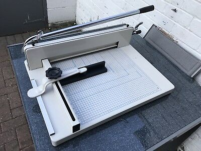 """17"""" A3 Paper Cutter Guillotine Trimmer Office Heavy Duty USED Collect from M27"""