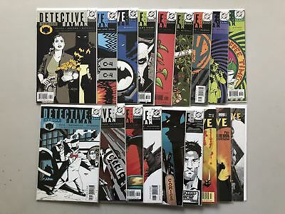 Lot of 18 Detective Comics (1937 1st Series) from #747-831 VF Very Fine