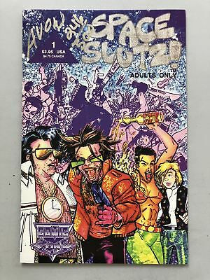 Space Slutz! #1 (1992) Signed Signed by Michael Avon VF Very Fine