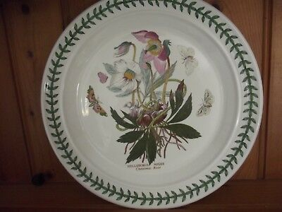 Portmeirion Botanic Garden Dinner Plate - Christmas Rose