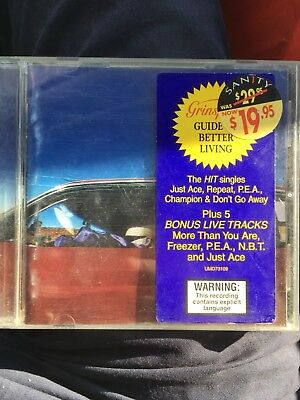 GRINSPOON - Guide to better living 5 Bonus Live Tracks - CD 1997 Special Edition