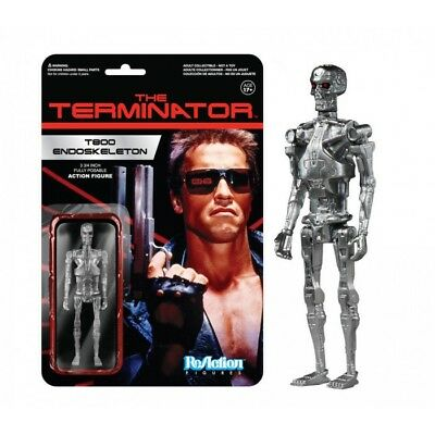 Funko Reaction Terminator T800 Endoskeleton Vintage Retro Figure New! T 1000