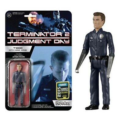 Funko Reaction Terminator 2 T1000 With Hook Arms Vintage Retro Figure New! T 100