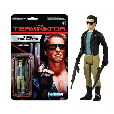 Funko Reaction Terminator T 800 Vintage Retro Figure New! T 1000