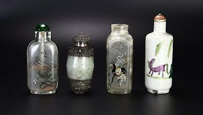 A Group Of Snuff Bottles