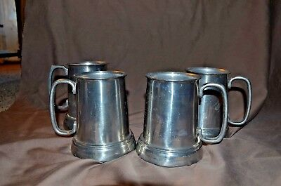 3Vintage Schlitz Aluminum Beer Mug, Tankard, Stein with Hidden Message on Bottom