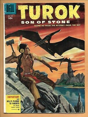 Dell Four Color TUROK SON OF STONE No. 656 (1955) Second Appearance!