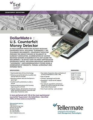 Tellermate Counterfeit Detection - DollarMate+ SALE!!!