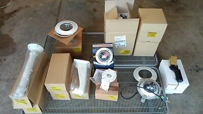 LOT: CCTV Cameras and hardware: 4x PTZ, 4x Bullet cams, 2x mini domes, brackets