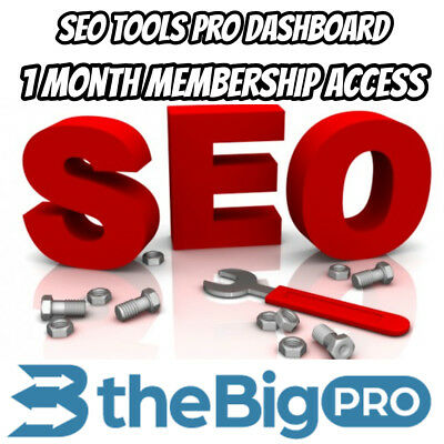 Seo tools Pro Dashboard | 1 Month Membership Access