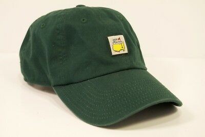 6128fd32186 2008 Masters Golf Hat Green Adjustable American Needle Augusta National