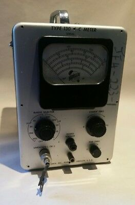 Vintage Tektronix Type 130 L-C Meter Untested