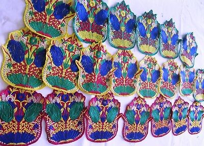 vintage hand work  sewing  patches  20 Pcs for craft,