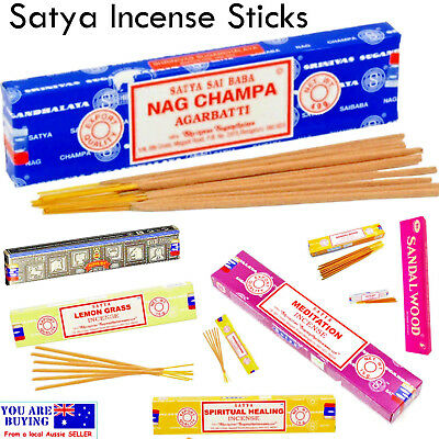 Incense Sticks 15g Home Fragrance Nag Champa Scent Insence SATYA 20cm long