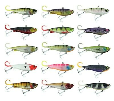 95mm Zerek Fish Trap Soft Vibe Sinking Crankbait Fishing Lure