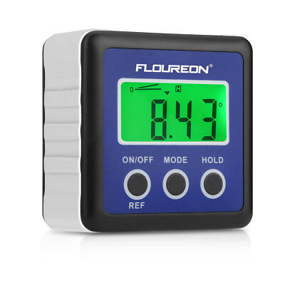 Digital Bevel Box Gauge LCD Backlight Display Angle Finder Protractor