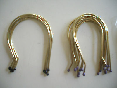 8 JUMBO & 4 SUPER JUMBO HOT ROLLER CLIPS,HAIR CURLER METAL PINS,WIRE remington