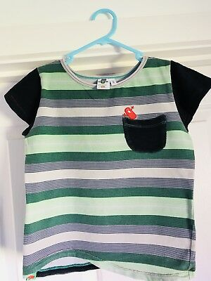 Oishi m Short sleeves T Shirt, Sz 5-6 Years, RRP$44.95, As New