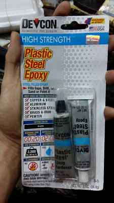 Plastic Steel Filled Epoxy for All Metals DEVCON