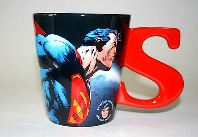 Rare Collectible Super Man 3D Ceramic Coffee Mug New Large Cup Free Shipping
