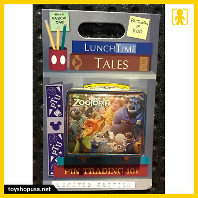 Disney Lunch Time Tales Zootopia Lunchbox Pin In Hand