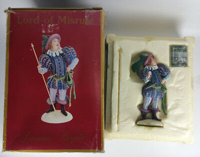 DUNCAN ROYALE - Lord of Misrule - Figurine Statue Collectible Original Box