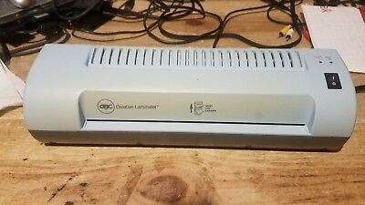 "GBC 9"" CREATIVE Heat Laminator Model #1712730 - $9 00 