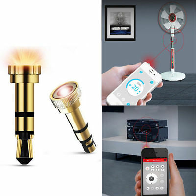 Universal 3.5mm IR Infrared Remote Control TV STB DVD For iPhone Android Phones