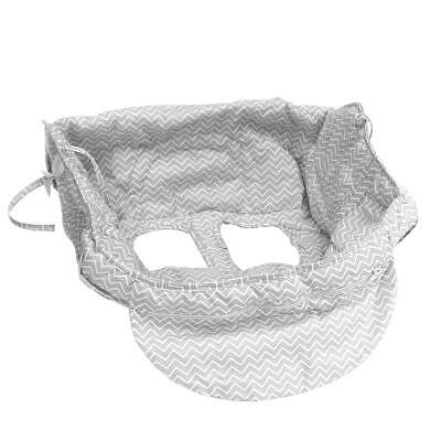 2in1 Shopping Cart Cover and High Chair Universal Fit Ultra Plush 100% Cotton