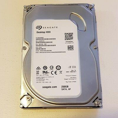 Seagate 250GB 7200RPM SATA DESKTOP HDD ST250DM000